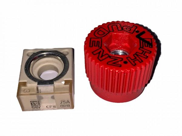Polsicherung /Bundmutter für Drittbatterie