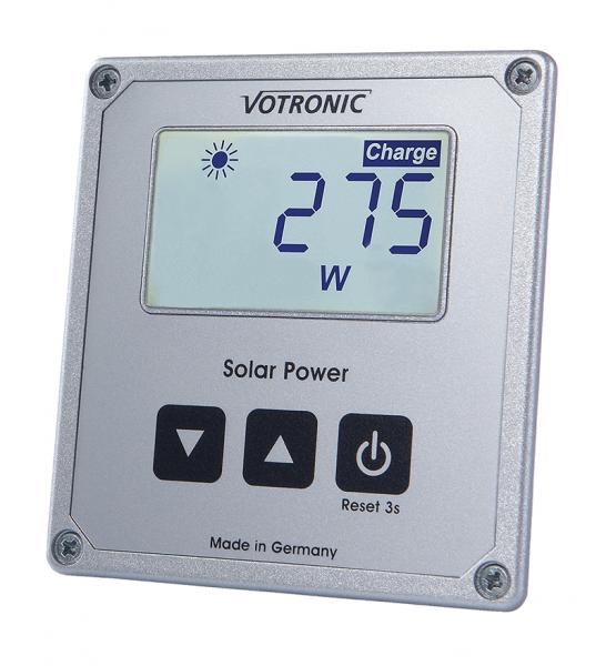 Votronic Solarcomputer fertig montiert