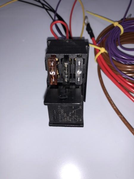 VWCAMPER CU Solarcontrolmodul