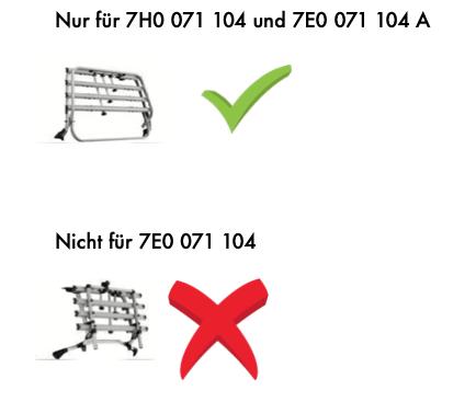 3M Ersatzschutzfolie f. original VW Fahrradträger Comfort/Logo